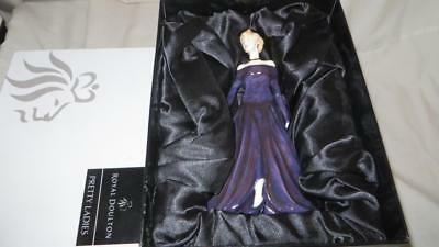 Royal Doulton Pretty Ladies Diana Princess Of Wales Limited Edition mint withbox