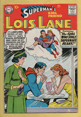 Superman's Girl Friend, Lois Lane #7 February 1959, DC, 1958 Series VG