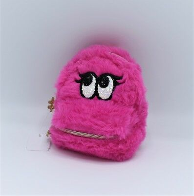 Bath and Body Works Fuzzy Soft Hot Pink Backpack PocketBac Holder
