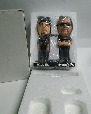 "Orange County Choppers Paul Sr & Paul Jr Bobblehead 7"" Man Cave Free Shipping"