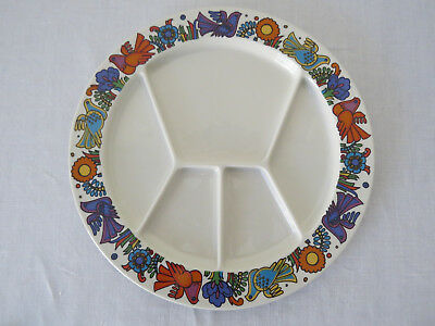 Villeroy & Boch - Acapulco 5 Section Divided Grill/Fondue Plate - Unused