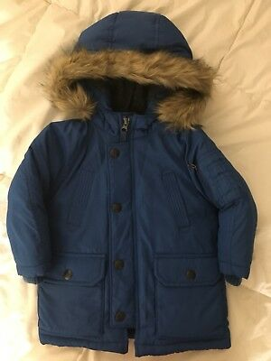 ad0d3531b BABY GAP TODDLER Boys 18-24 Months Blue Warmest Down Winter Coat ...