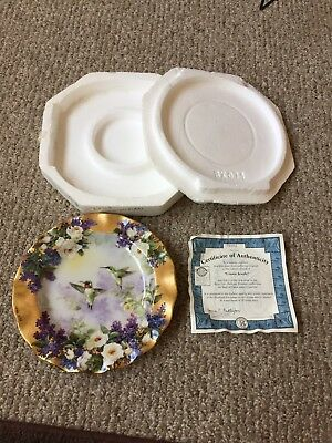 Lena Liu Crown Jewels Collector Plate First Issue New