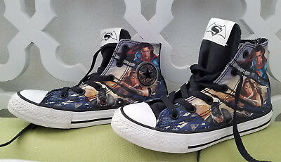 3fd6d1323dab CONVERSE ALL STAR DC Comics Superman Shoes-Youth Size 3-VGUC-350444F ...