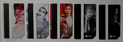 david BOWIE is metrocard LAST ONE nyc subway COMPLETE SET 5 CARDS