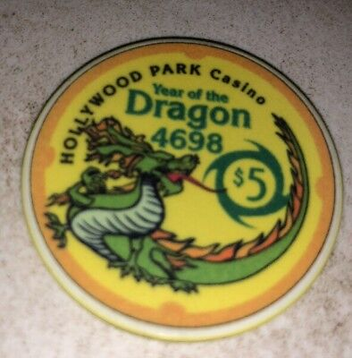 Hollywood Park Casino $5 Casino Chip Inglewood Ca 2.99 Shipping