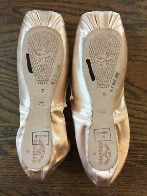 NEW Freed of London 5 no X Custom Pointe Shoes Classics CASTLE Maker