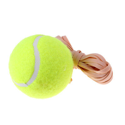 Tennis Trainer Rebound Ball with Rope Drill Tennis Self-study Training Tool
