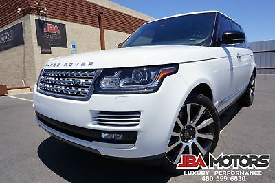Land Rover Range Rover 2015 Range Rover L Autobiography LWB Full Size 15 Range Rover L Autobiography LWB like SC Supercharged HSE 2013 2014 2016 2017