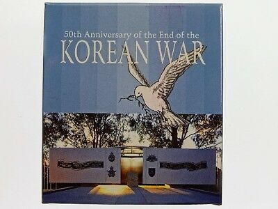 2003 50th Anniversary End of Korean War One Dollar Silver Proof Coin