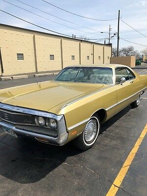 1969 Chrysler Newport  1969 Chrysler Newport. Numbers Matching Motor, Original Rust Free Survivor!