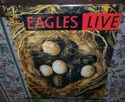 THE EAGLES Live 1980 PROMO POSTER Only One