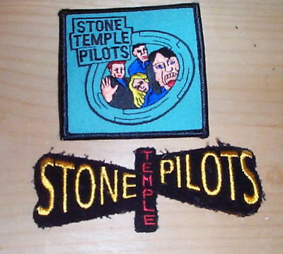 LOT Of Stone Temple Pilots Vintage Embroidered Patches
