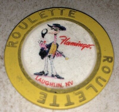 Flamingo Roulette Casino Chip Laughlin Nevada 2.99 Shipping