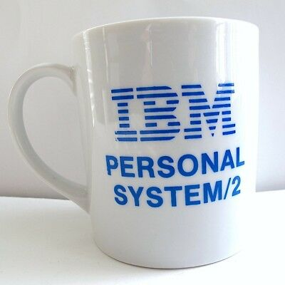 IBM PS/2 Collectible Vintage Personal System 2 Coffee Cup Mug