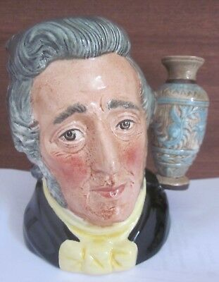 ROYAL DOULTON Collectors Club SIR HENRY DOULTON Toby Jug D6703 Eric Griffiths