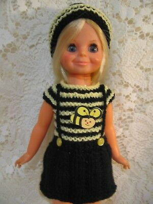 "Ideal Crissy/Chrissy  Bumblebee outfit for 16"" Dolls"