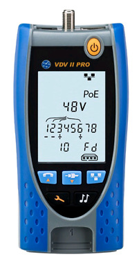 IDEAL Networks VDV II PRO Voice, Data and Video Cable Tester and Verifier