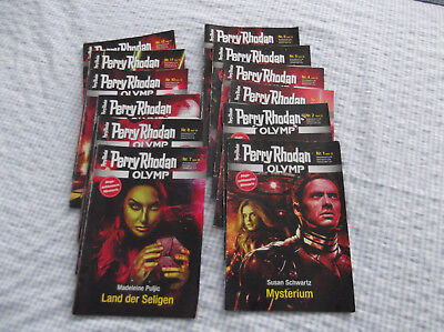 "Perry Rhodan Miniserie ""Olymp"" Band 1-12"