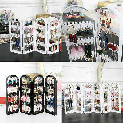 Screen Stud Earring Jewellery Display Stand Unit Holder Storage Organiser Box