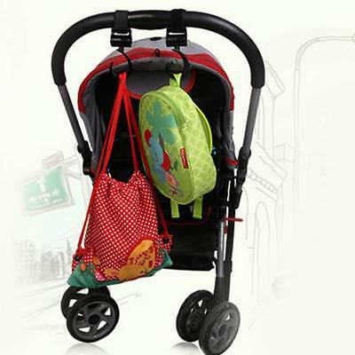 2pcs/Set Baby Stroller Hook Bag Handle Grab Hook Holder Stroller Accessories NEW
