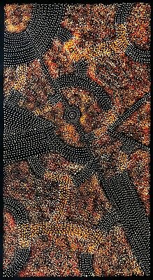 ;Gracie Morton Pwerle, Authentic Aboriginal Art. Incl COA, Photo;a and Bio.