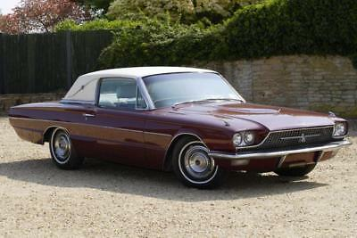 1966 Ford Thunderbird Coupe 390 cu inch V8 Auto