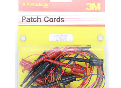 Patch / Test Leads Hooks to Sockets - 3M Prototyping / Test - UK Stock