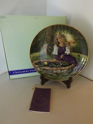 """THE FROG KING, Classic Fairy Tales Kaiser Porcelain Collection Plate 7 3/4"""""""