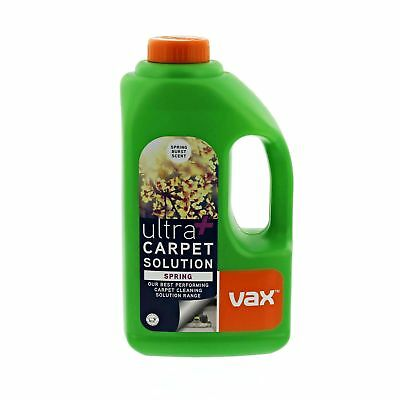 Vax Ultra+ Spring Deep Clean Upholstery Carpet Cleaning Solution 1.5L