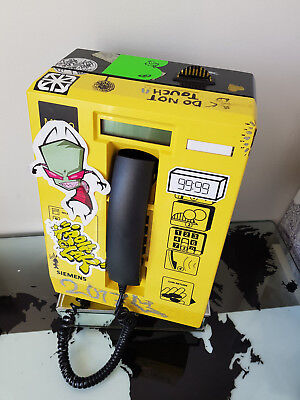 Siemens MP-10 Indoor Coin-Operated Yellow Plastic Telephone Payphone Keys 3121