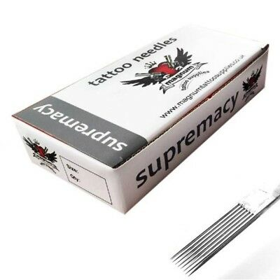 50 x 25 M1 MAGNUM SHADER SUPREMACY TATTOO NEEDLES TOP QUALITY UK