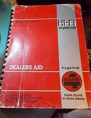 Hi Fi Catalogue  Dealer Price List Car Stereo Systems 1980s VINTAGE ELECTRONICS