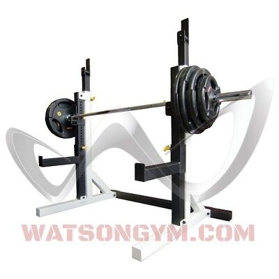 Watson Gym Equipment Animal Squat Stands. Powerlifting. Super Heavy Duty. RARE!