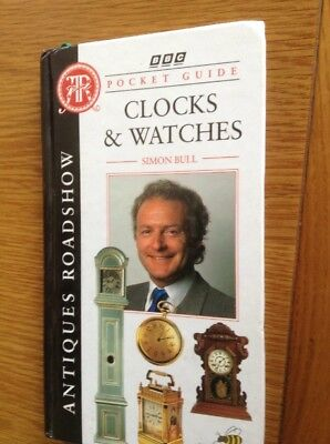 BBC Antique Roadshow Pocket Guide To CLOCKS & WATCHES. 80 Page Hardback Book