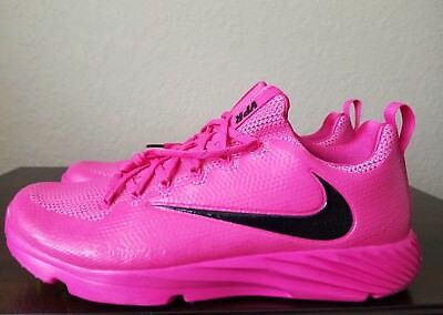 🔥🔥new Nike Vapor Speed Football Lax Turf Shoes Pink 884799-606 Men's Size 12.5