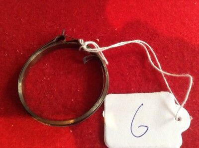 Small Clock Main Spring 4.94mm Width ,49.05mm Diameter Complete & Good Condition