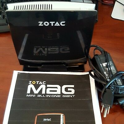 """Zotac Mag """"All in One"""" Mini PC, Mini Computer -Great Condition w/Manual"""