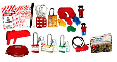 Krm Loto - Industrial Safety Lockout Kit 1