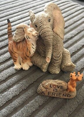 tuskers elephant ornaments - Love is a Friend