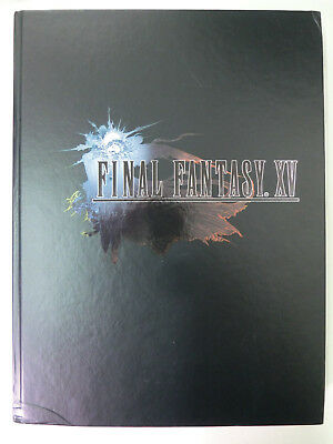 Final Fantasy XV - 15 - Hardcover Collector's Edition Lösungbuch inkl. Poster