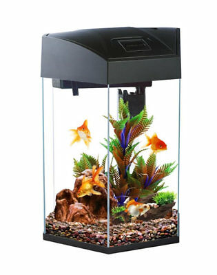 Fish R Fun FRF-555 Fish Tank Aquarium Hexagonal Tropical Coldwater Kit 21.6L