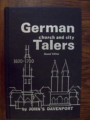 Davenrport German Church and City Talers 1600-1700 Signed by Author