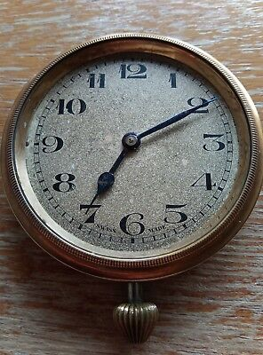 Antique Swiss Made Car Clocks 65mm ROSKOPF STYLE MOVEMENT