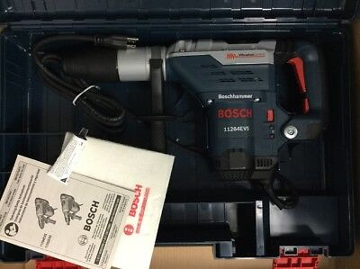 "Bosch 11264EVS 1-5/8""  Corded Rotary Hammer Drill In Hard Case"