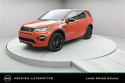 2017 Land Rover Range Rover Discovery Sport HSE Luxury