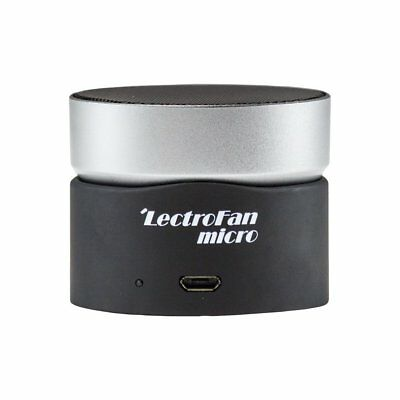 Lectrofan Micro Wireless Sound Machine And Bluetooth Speaker With Fan Sounds New