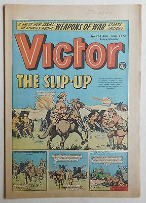 VICTOR Comic #703 - 10th August 1974