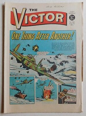 VICTOR Comic #546 - 7th August 1971