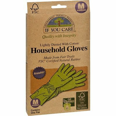 If You Care Household Gloves - Medium - 1 Pair